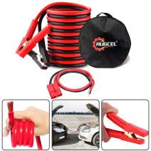 RUGCEL Winch 3-Gauge Permanent Installation kit Jumper Battery Cables with Quick Connect Plug 30 Ft Booster Jump Start ENB-130-30' Allows You to Boost a Battery from Behind a Vehicle (30FT)