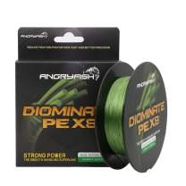ANGRYFISH 8 Strands Braided Fishing Line-Excellent Tensile Smooth-Super Strong for Saltwater and Freshwater-High Value