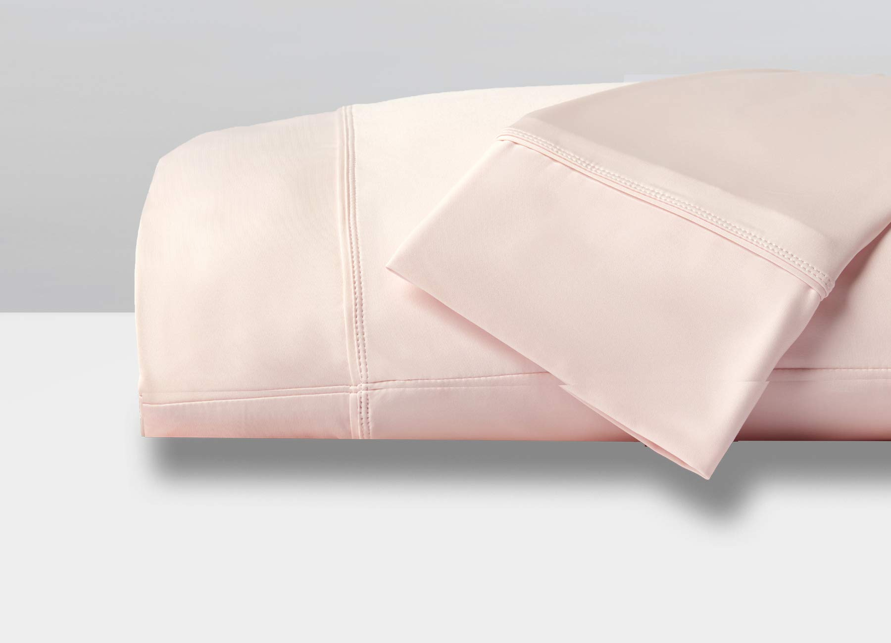 SHEEX - Original Performance Pillowcases (Set of 2), Ultra-Soft Fabric Transfers Body Heat and Breathes Better Than Traditional Cotton - Blush Pink, King