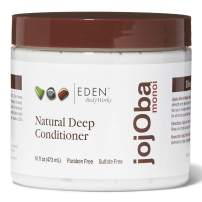 EDEN BodyWorks JoJoba Monoi Deep Conditioner | 16 oz | Moisturize, Soften & Repair Hair - Packaging May Vary