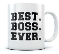 Best Boss Ever Coffee Mug 11 Ounce White