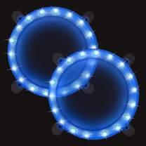 BLINNGO Cornhole Ring Lights and Cornhole Edge Lights, LED Cornhole Lights fit for Standard Cornhole Boards and Cornhole Bags