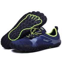 Aliwendy Men's Minimalist Trail Barefoot Shoes Quick Dry Wide Toe Box Fishing Beach Hiking Water Shoes