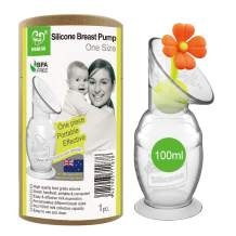 Haakaa Breast Pump Manual with Stopper 4oz/100ml
