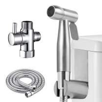 Bidet Sprayer for Toilet, Atalawa Hand Held Stainless Steel Toilet Bidet Sprayer Set, Cloth Diaper Sprayer Kit, Portable Shower Spray Kit for Personal Hygiene/Bathroom Floor Cleaning/Pet Washing