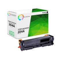 TCT Premium Compatible Toner Cartridge Replacement for HP 204A CF510A Black Works with HP Color Laserjet Pro MFP M181FW M180NW M154NW Printers (1,100 Pages)