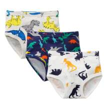 Zando Little Boys Briefs Soft Baby Underwear for Toddler Breathable Cotton Underwea for Boys Panties Kid Assorted Panty