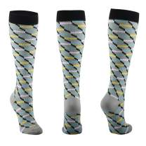 Compression Socks for Women and Men - Knee High Support Socks fit for Running, Nurses