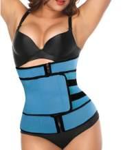 HARGLESMAN Women's Waist Trainer Corset Trimmer Belt Waist Cincher Body Shaper Slimming Sports Girdle Weight Loss Shapewear