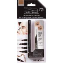 BELLA BROW By Dream Look, Microblading Eyebrow Pen with Precision Applicator (Single Pack - Brown) – As Seen On TV, Natural Looking, Smudge Proof, Waterproof, Long Lasting