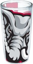 Tervis 1196210 Alabama University Colossal Wrap Individual Tumbler, 16 oz, Clear
