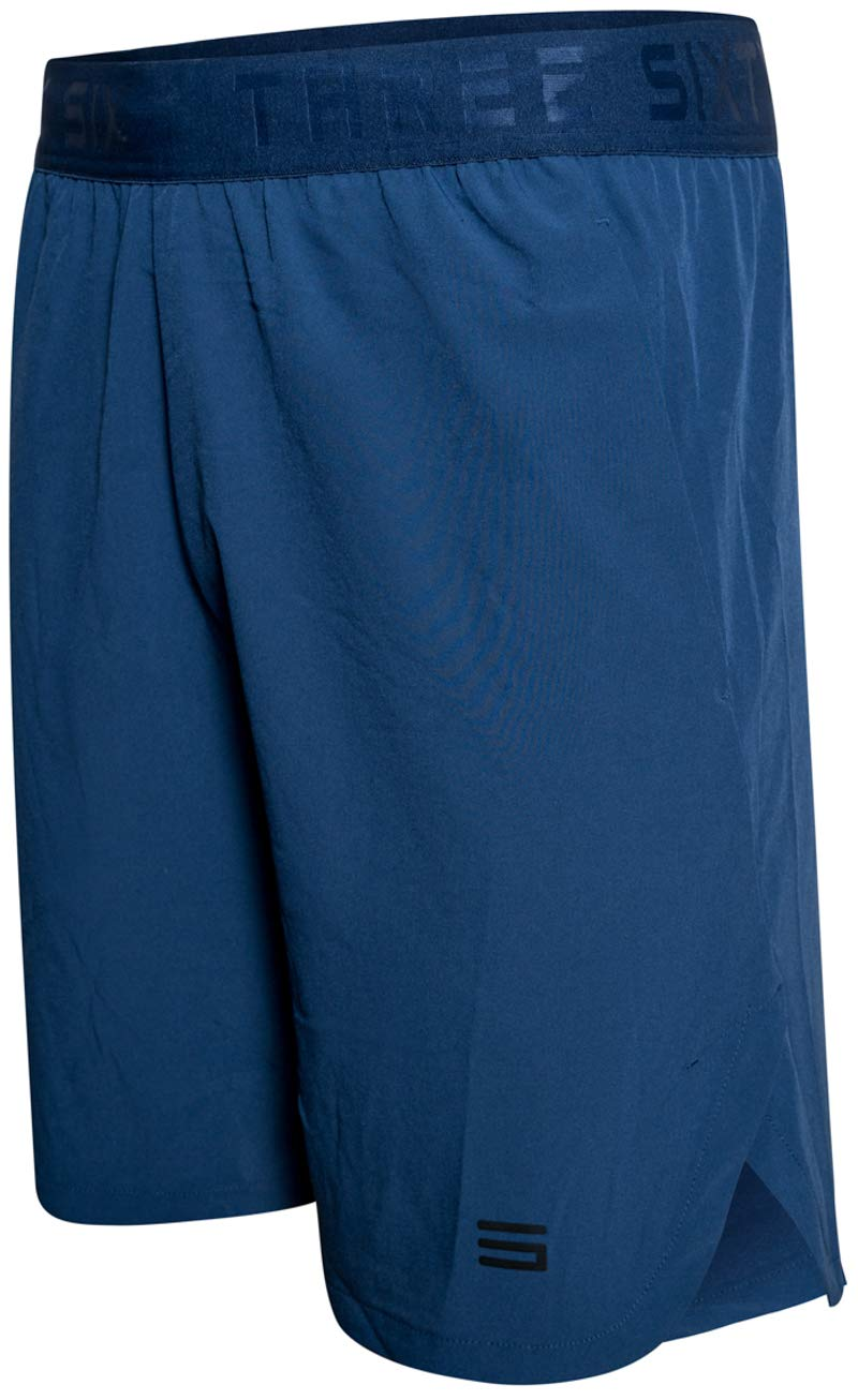 Dry FIT Gym Shorts for Men - Mens Workout Running Shorts - Moisture Wicking with Pockets and Side Hem