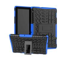 for Huawei MediaPad T5 10 Case-ROISKIN Hard PC and Soft TPU Dual Layer Back Cover Shockproof Impact Resistance Armor Defender Case for MediaPad T5 10 Inch Tablet