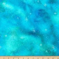 Robert Kaufman Kaufman Morningmoon Fairies Prairie Sky Blender Texture Fabric by the Yard