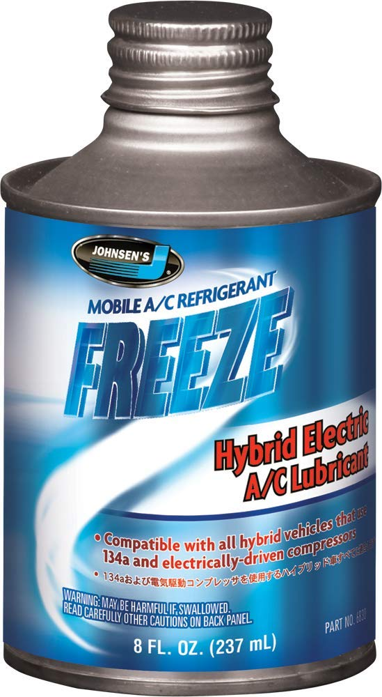 Johnsen's 6830-12PK Hybrid Electric A/C Lubricant - 8 oz., (Pack of 12)
