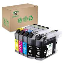 Supricolor LC203 LC201 Ink Cartridges, Replacement Ink for LC203XL LC 201 Compatible with MFC-J4320DW MFC-J4420DW MFC-J4620DW MFC-J5520DW MFC-J5620DW MFC-J5720DW