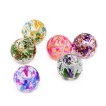 Pandahall 100pcs Spray Painted Glass European Beads Large Hole Beads No Metal Core Rondelle Charms Mixed Color 12x9mm for Jewelry Making