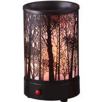Hituiter Wax Warmer oil lamp for your scented wax melts classic Black forest 7 color lighting design home accessories…