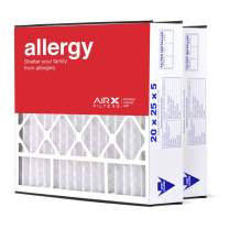 AIRx Filters 20x25x5 MERV 11 HVAC AC Furnace Air Filter Replacement for Air Bear Trion 255649-102 229990-102, Allergy 2-Pack, Made in the USA