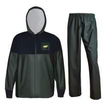 Navis Marine Rain Suits for Men Women Fishing Gear Softshell Jacket with Pants Waterproof Workwear