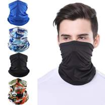 Bandana Face Mask Dust Sun Protection Cooling Neck Gaiter Scarf Balaclava Headwear for Men Women Sport Outdoor