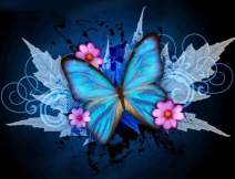 Butterfly Paint with Diamond Painting Full by LUHSICE, 60x75cm