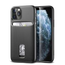 ESR Wallet Case for iPhone 11 Pro - Wallet Armor [Slim + Protective] Premium Credit Card Holder for iPhone 11 Pro - Black