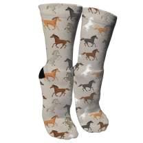 ULQUIEOR Women's Gentleman Gog Cotton Novelty Cotton Athletic Sock