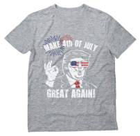 Donald Trump Make 4th of July Great Again Patriotic T-Shirt