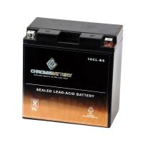 Chrome Battery YB16CL-BS Jet Ski Battery - Rechargeable - Replacement for CB16CL-B, AB16CLB, YUAM2S6CL - Factory Sealed and Activated