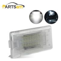 Partsam White CANBus LED 18-SMD Luggage Trunk Cargo Area Light Lamp Replacement for 1/3/5/6/7/X Series