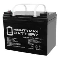 ML35-12INT - 12 Volt 35 AH Rechargeable Internal Thread SLA Battery - Mighty Max Battery Brand Product