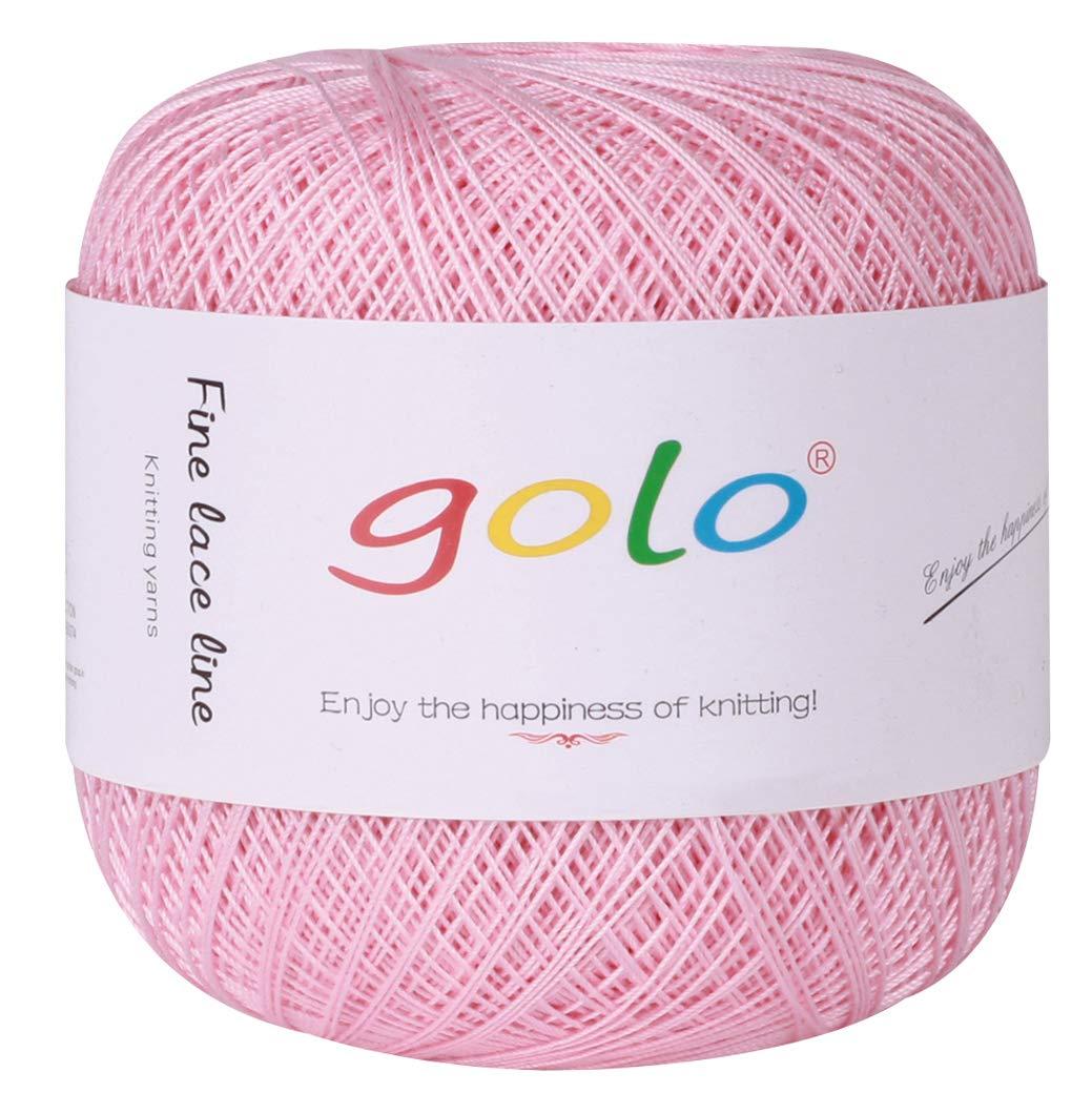 golo Yarn for Hand Knitting Crochet Thread Yarn red Powder