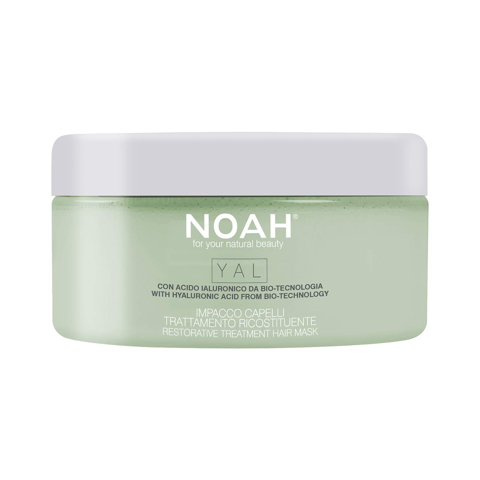 NOAH YAL Restore Hair Mask with Hyaluronic Acid for Hair - Hydrating, Anti Aging, Repairing Hair Mask and Hair Moisturizer, Coconut Avocado Hair Mask Sulphate Free - 6.76 fl.oz, Avocado Oil