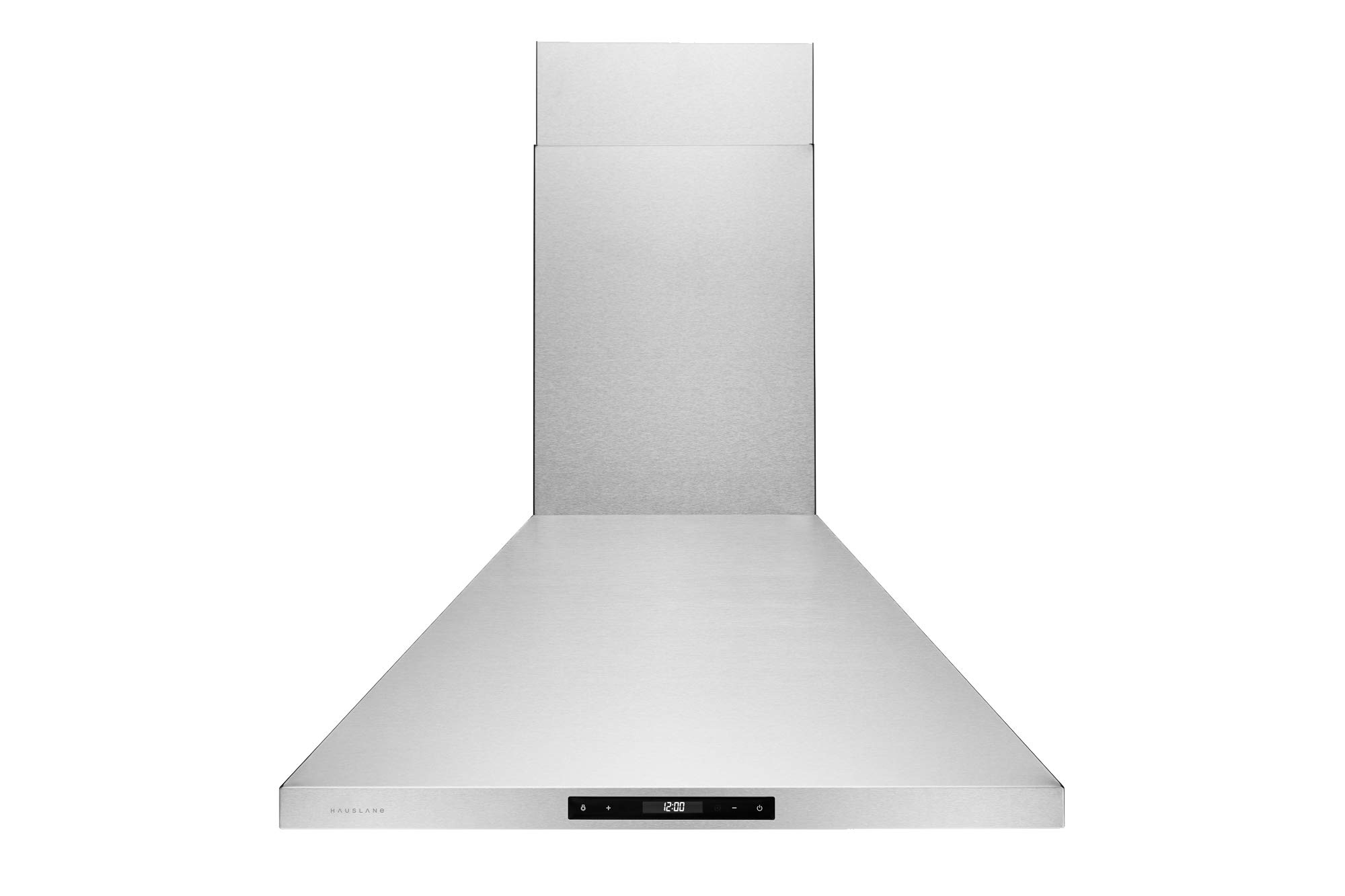 Hauslane | Chef Series Range Hood WM-538 36'' European Style Series 3 Speed Stainless Steel Wall-Mount Range Hood | 860 CFM | Touch Screen, Easy Clean Baffle Filters, LED Lamps | Duct or Ductless