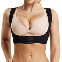 WOWENY Chest Brace Up for Women Posture Corrector Shapewear Back Brace Bra Bustline Shaper Vest