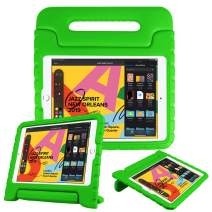 """Fintie Case for iPad 7th Generation 10.2"""" 2019 - Kids Friendly Light Weight Shock Proof Convertible Handle Stand Kids Cover, Compatible w/iPad Air (3rd Gen) 10.5"""" 2019, iPad Pro 10.5"""" 2017 - Green"""