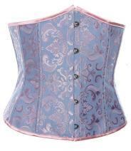 Alivila.Y Fashion Corset Womens Brocade Underbust Boned Corsets Bustier Waist Trainer