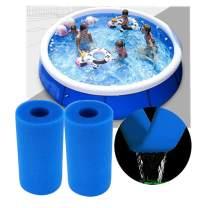 XZTT Swimming Pool Filter Foam Cartridge for Intex Type A, Easy Set Pool Filter Cartridges, Washable Filter Sponge Cleaner for Pool, Pool Filter Cartridge a or c for Intex Pool Filter Pumps (2PCS)