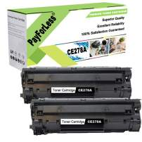 PayForLess Compatible for HP 78A CE278A Toner Cartridge BK for HP Laserjet P1606DN M1536 MFP M1536DNF P1560 P1566 P1606