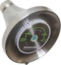 Niagara Conservation N3917BN Earth Luxe High Efficiency Showerhead, Brushed Nickel