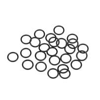 uxcell O-Rings Nitrile Rubber 10mm Inner Diameter 13mm OD 1.5mm Width Round Seal Gasket 25 Pcs