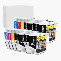 Bigger Compatible Ink Cartridge Replacement Compatible with Brother LC3019XL LC-3019XL to use with MFC-J5330DW J6530DW J6930D (4 Black, 2 Cyan, 2 Magenta, 2 Yellow, 10-Pack)