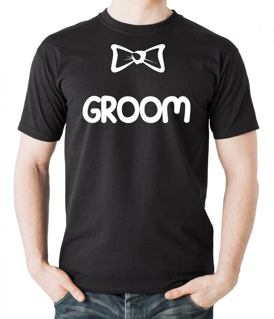 Bow Tie Groom Bachelor Party T-Shirt