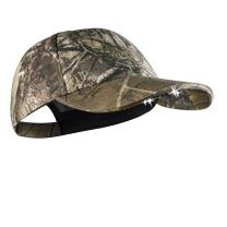 POWERCAP CAMO & Blaze LED Hat 25/10 Ultra-Bright Hands Free Lighted Battery Powered Headlamp – Structured