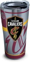 Tervis 1281650 NBA Cleveland Cavaliers Paint 20 oz Stainless Steel Tumbler with lid, 30 oz, Silver