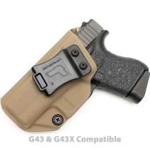Tulster Glock 43/43X Holster IWB Profile Holster - Left Hand
