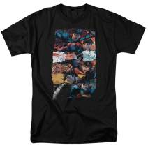 Superman DC Comics X-Ray Vision T Shirt & Stickers