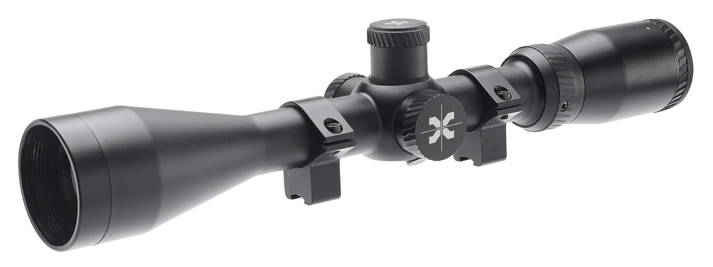 AXEON Optics 4-16x44mm Gauntlet Pellet Gun Air Rifle Scope for Hunting and Target Shooting - Ideal for The Umarex Gauntlet Air Gun, Black