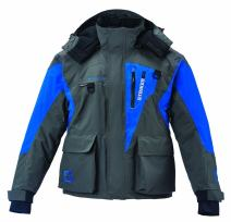 Striker Ice Predator Gray/Blue Jacket, XXXX-Large